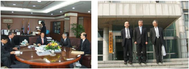 釜慶大学校水産科学大学と部局間交流協定を締結
