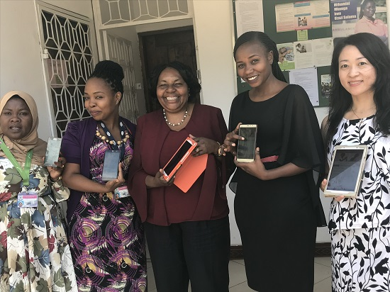 App development and research implementation with midwives in Tanzania