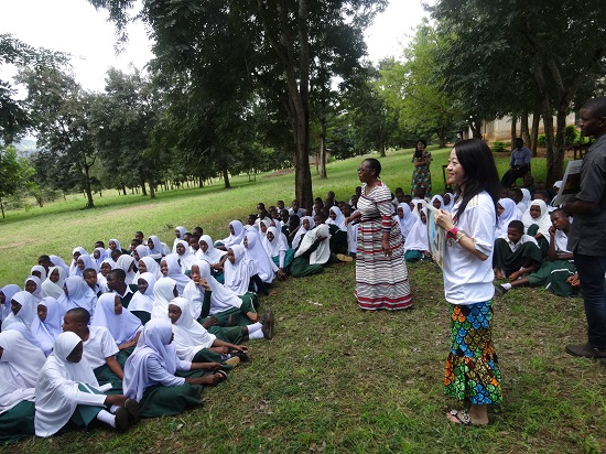 Educational support to prevent teenage pregnancy