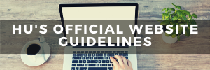 HU's Official Website Guidelines