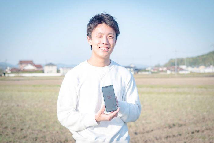 アプリの基礎部分の開発を担当した小泉さん