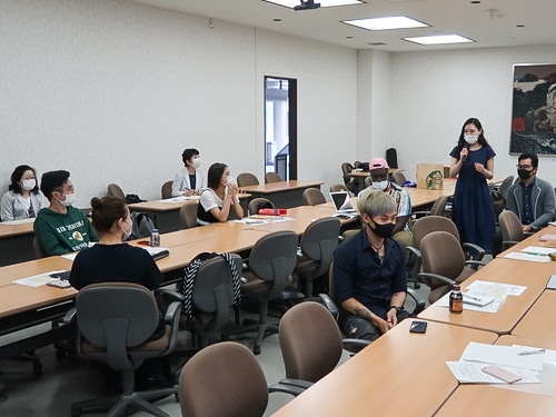 Event during the Hiroshima University student peace summit