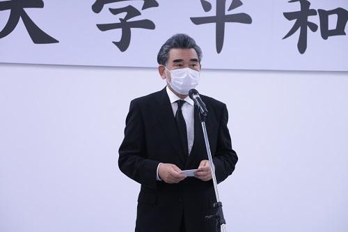 Palabras de apertura del Presidente Ochi