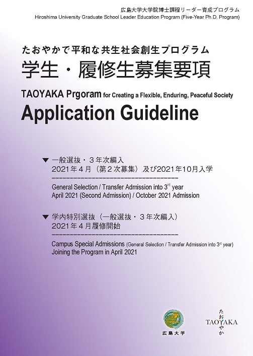 Image of the guideline cover page