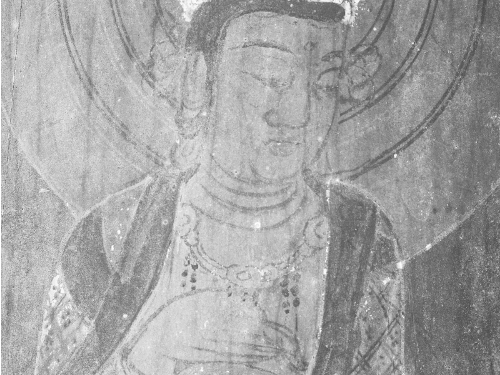 Researchers uncovered ancient Buddhist paintings possibly dating back to over 1,300 years ago