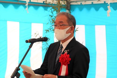 髙垣東広島市長による挨拶