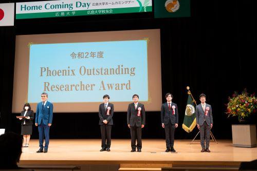 青年研究人员荣获校长表彰