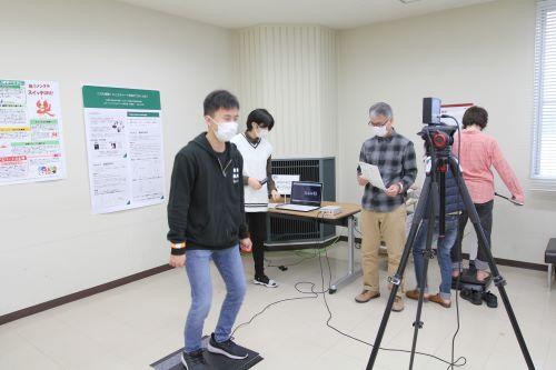 综合科学学院运动健康科学研究室举行体检