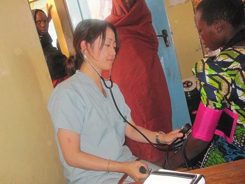 タンザニアでの活動の様子