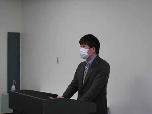 修了生代表_川原俊一さん