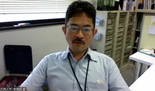 中島田 豊教授