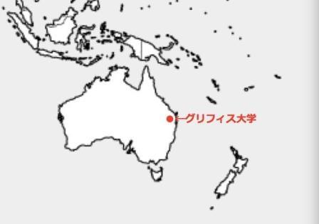 地図 オーストラリア連邦 クインーズランド州ブリスベン