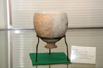 広島で出土された製塩土器(古墳時代)