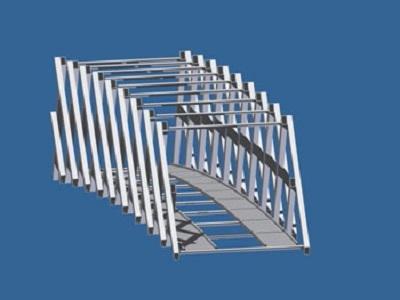 モバイルブリッジの完成構想図