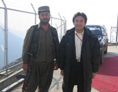 アフガニスタンにて