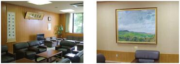 学部長室の写真