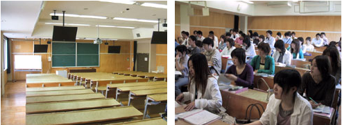 講義室の写真