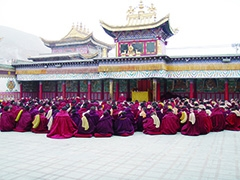 東チベット僧院