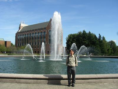 写真1 ワシントン大学のキャンパス