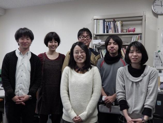 研究室の仲間 画像