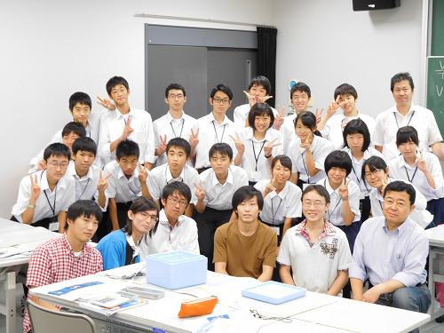 鳥取東高校1年生と
