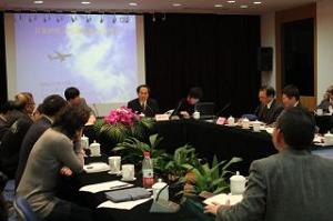 上海社会科学院における講演