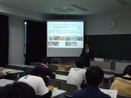 平成25年度第1回「卒業生等を通した社会交流事業」講演会