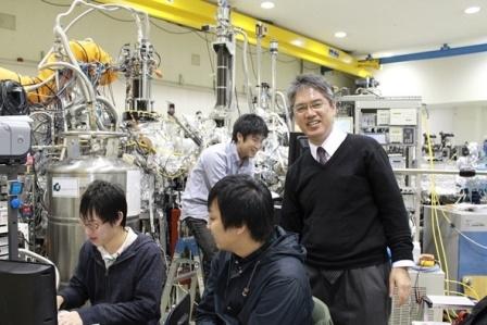 写真:木村先生の実験室の様子