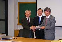 ソウル大学ナノシステム研究所協定締結式