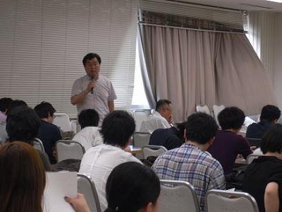 7/19 開会のあいさつ