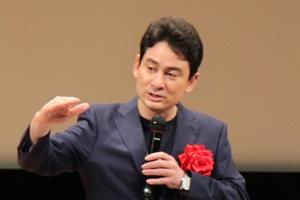 文化講演会では、アルピニストの野口健氏にご講演いただきました