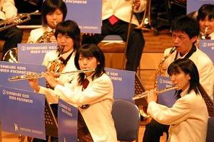 広島大学吹奏楽団によるオープニング演奏