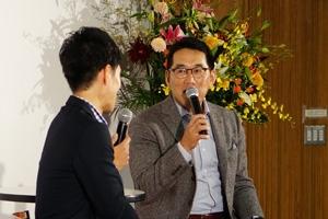 トークショーでは、野球評論家・前広島東洋カープ監督の野村謙二郎氏にご講演いただきました