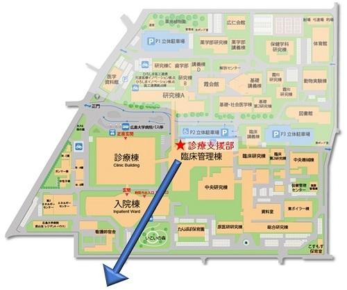 霞キャンパスマップ