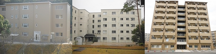 学生宿舎外観