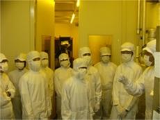 広島大学ナノデバイスセンターでの実習