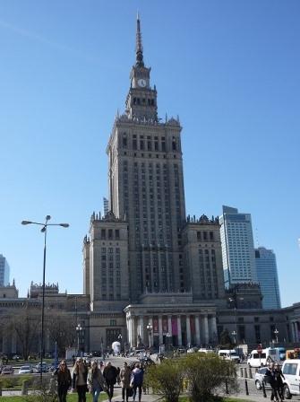 写真 ポーランド 文化科学宮殿