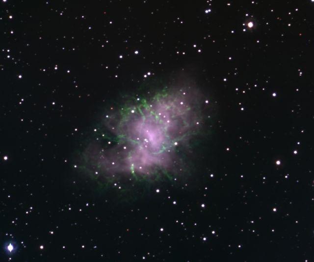 M1 (おうし座 かに星雲; 超新星残骸)