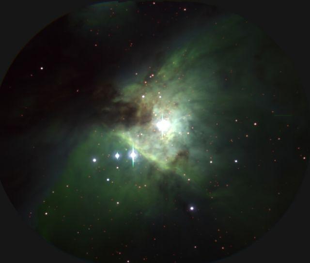 M42 (オリオン大星雲; 星形成領域; HII領域)