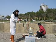 簡易ライシメーターによる硝酸性窒素溶脱試験