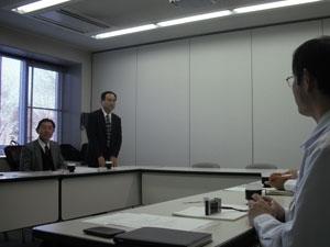 平成22年度 研究協力委員会の様子