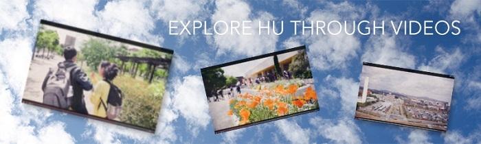 Explore the university through videos