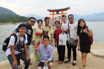Itsukushima Shrine in Miyajima Island