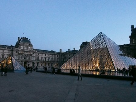 写真 留学先のパリ