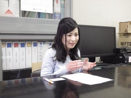 写真:山田真子さん