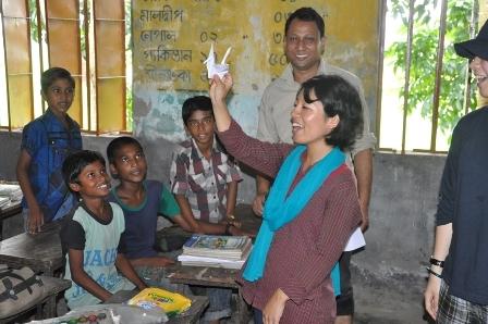 写真 バングラデシュの教室