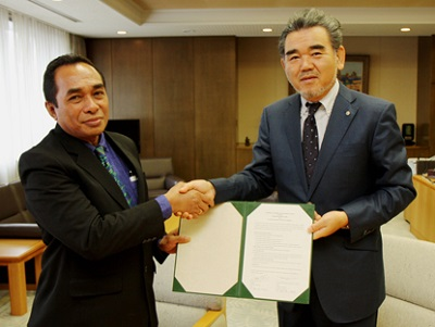 We Have Concluded An International Agreement With Universitas