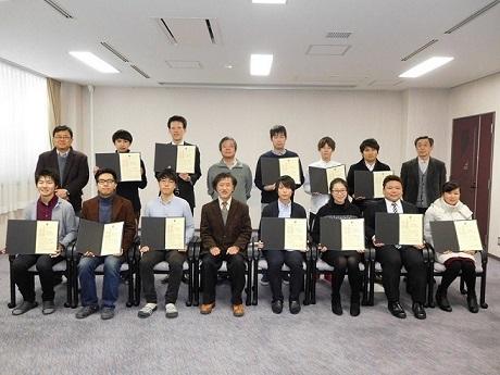 平成28年度エクセレントスチューデントスカラシップ表彰式