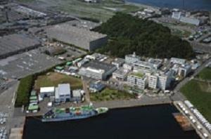 海洋研究開発機構外観全景