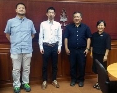 タイ・コンケン大学訪問